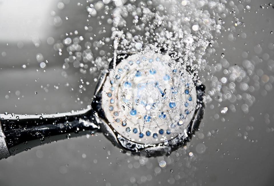 Zingen onder de douche